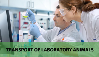 Transportation of laboratory animals